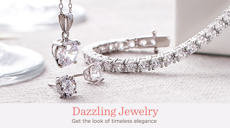 Dazzling Jewelry. Get the look of timeless elegance