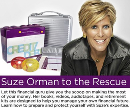 Suze Orman & Suze Orman's Organize and Protect Financial System