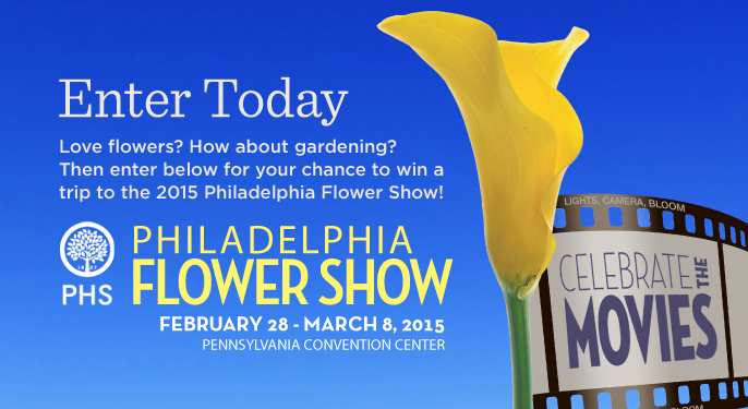 Philadelphia Flower SHow Sweepstakes