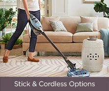Stick & Cordless Options
