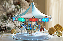 Mr. Christmas Frosted Carousel