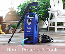 Blue Clean 1800 PSI Pressure Washer with Turbo Nozzle