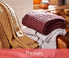 ED On Air Chunky Knit Throw by Ellen DeGeneres