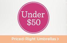 Umbrellas Under $50