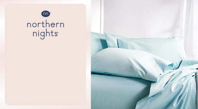 Northern Nights Wrinkle Defense 500TC Sheet Set w/ Extra PCs