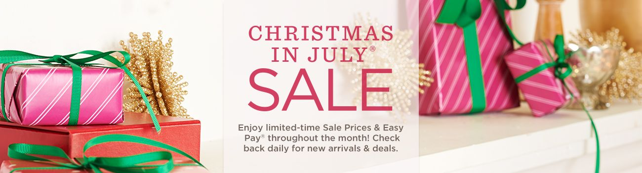Topic qvc christmas in july kicks off today 7 1