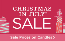 Candles on Sale