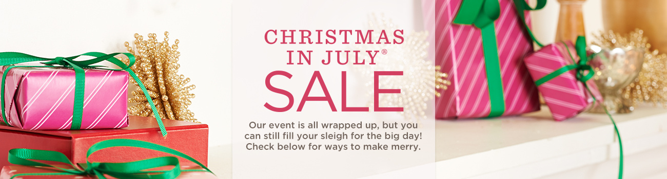 Christmas in July® Sale