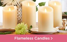 Luminara Flameless Candles with Gift Boxes and Remotes