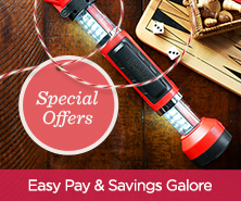 Easy Pay & Savings Galore