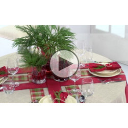 Elegant Holiday Table