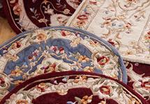 Royal Palace Special Edition 5 X7 Fleur De Lis Wool Rug Page 1 Qvc