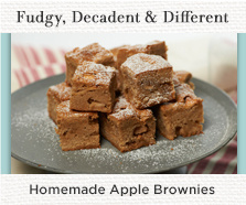 How to Make Apple Brownies