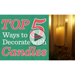 Decorate with Window Candles