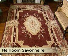 Royal Palace® heirloom Savonnerie handmade wool rug