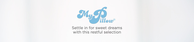 MyPillow. Settle in for sweet dreams with this restful selection