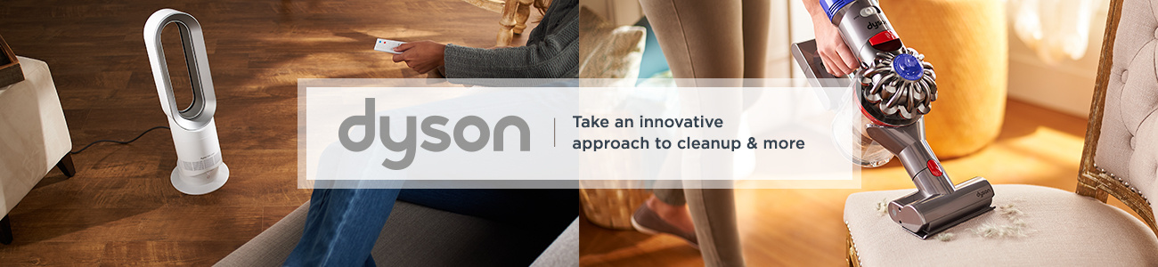 Dyson.  Take an innovative approach to cleanup & more