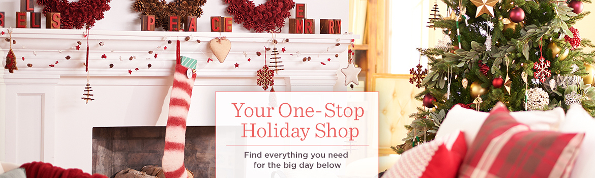 Your One-Stop Holiday Shop, Find everything you need for the big day below