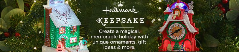 Hallmark Keepsake.  Create a magical, memorable holiday with unique ornaments, gift ideas & more.