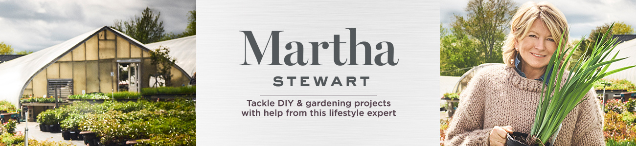 Martha Stewart. Tackle DIY & gardening projects with help from this lifestyle expert
