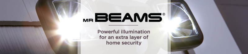 Mr Beams    Powerful illumination for an extra layer of home security