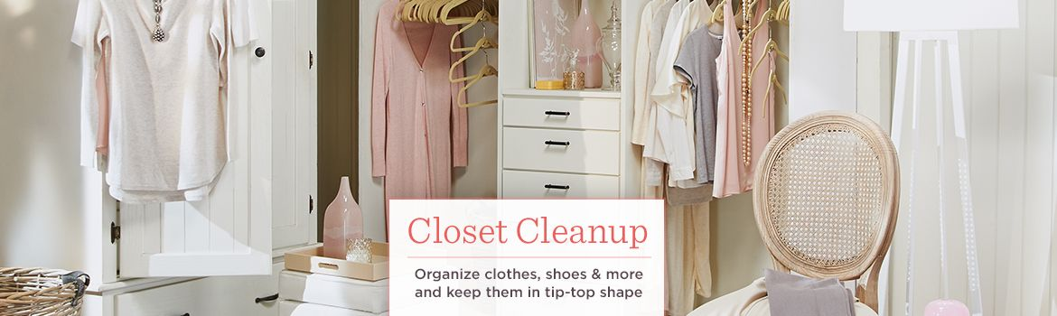 ... Closet Cleanup. Organize Clothes, Shoes U0026 More And Keep Them In Tip Top
