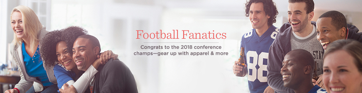 Football Fanatics  Congrats to the 2018 conference champs―gear up with apparel & more