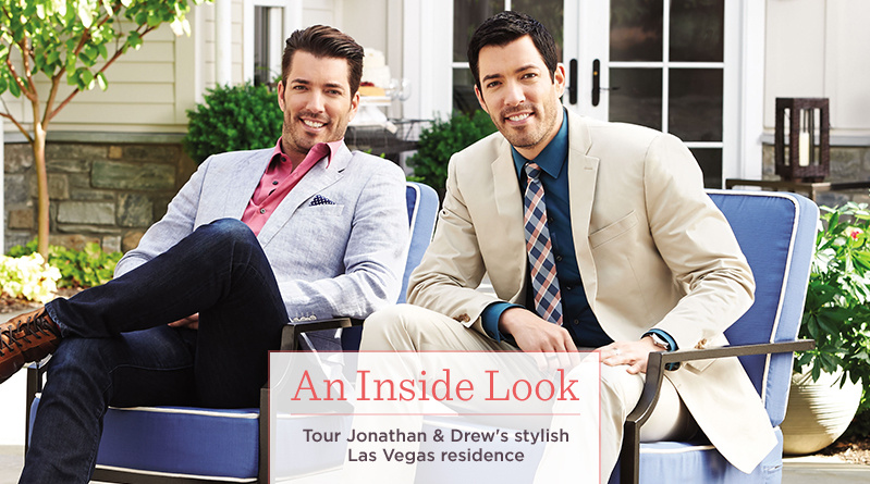 An Inside Look. Tour Jonathan & Drew's stylish Las Vegas residence