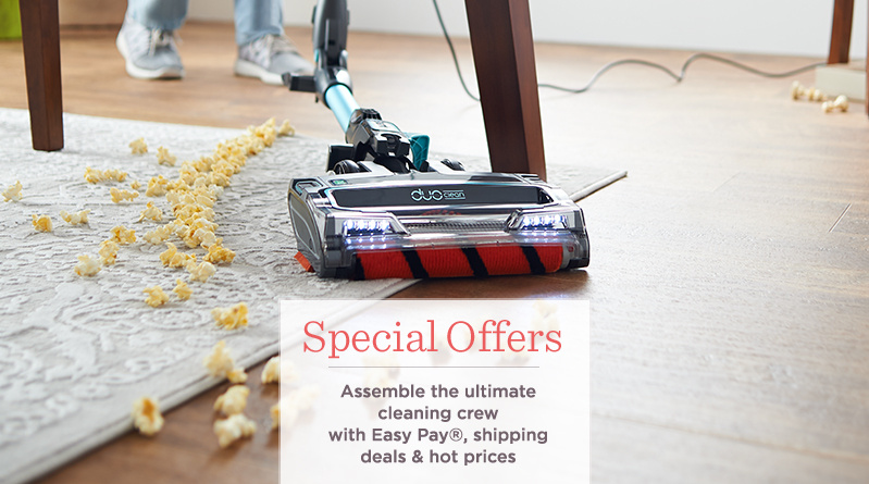 Special Offers. Assemble the ultimate cleaning crew with Easy Pay®, shipping deals & hot prices