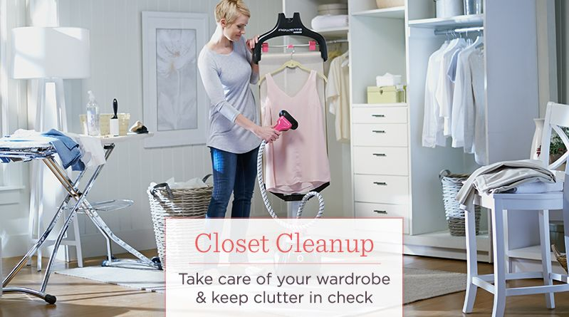 Closet Cleanup, Take care of your wardrobe & keep clutter in check