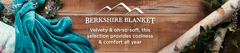 Berkshire Blanket, Velvety & oh-so-soft, this selection provides coziness & comfort all year