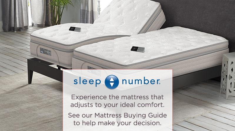 sleep number experience the mattress that adjusts to your ideal comfort - Mattress Buying Guide