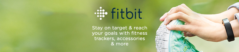Fitbit. Stay on target & reach your goals with fitness trackers, accessories & more