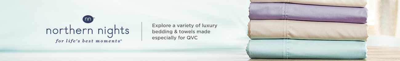 Northern Nights, Explore a variety of luxury bedding & towels made especially for QVC