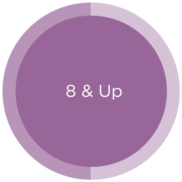 8 & Up