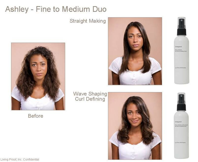 Living Proof Nofrizz Styling For Fine To Medium Hair Duo