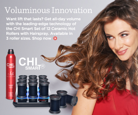 CHI Smart Set of 12 Ceramic Hot Rollers w/ Hairspray