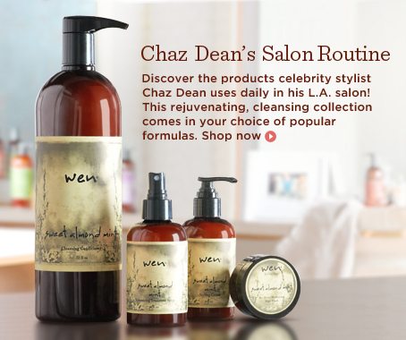 WEN by Chaz Dean Cleanse and Treat Salon Experience