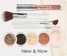 bareMinerals BareCrystals 6-piece color collection with brushes
