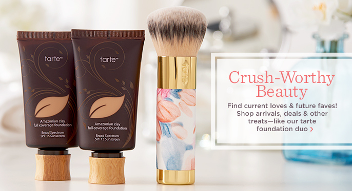 tarte Foundation Duo & Brush