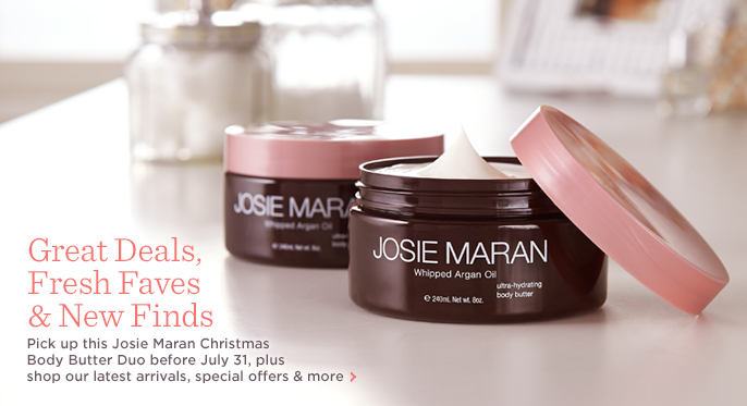 Josie Maran Christmas Body Butter Duo