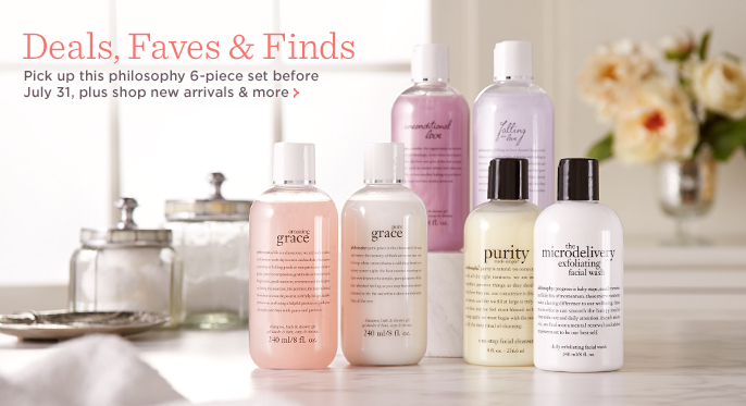 philosophy famously clean 6-piece set for face & body