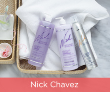Nick Chavez Shampoo, Conditioner & Hairspray