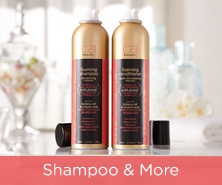 Caj Mousse, Shampoo & Conditioner