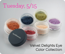 bareMinerals(R) Velvet Delights Matte Eye Color 6-Piece Collection