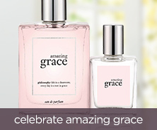 philosophy amazing grace necklace & eau de parfum