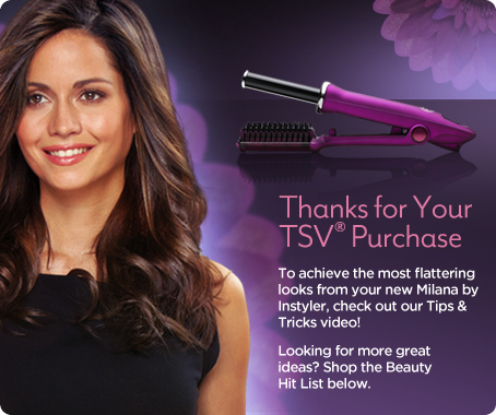 Milana by InStyler Rotating Styling Iron