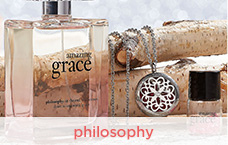 philosophy amazing grace necklace & edp