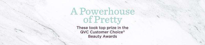 A Powerhouse of Pretty, These took top prize in the QVC Customer Choice® Beauty Awards