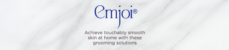 Emjoi, Achieve touchably smooth skin at home with these grooming solutions